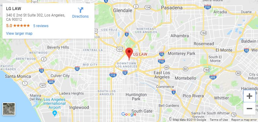 Los Angeles Bankruptcy Law Firm Location